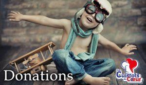 Donations Cuistots du coeur par Wonderful Home