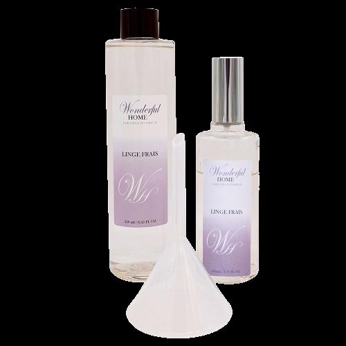 Recharge Parfum d'intérieur Linge Frais   WonderfulHome